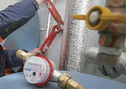 установка водяного счетчика исполнителя Вышгород