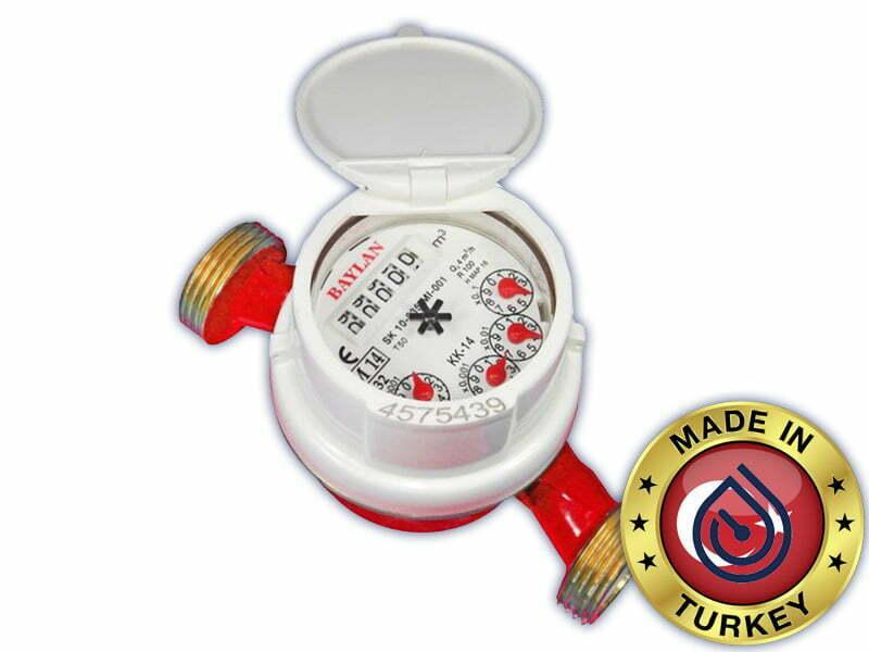 Счетчик горячей воды Baylan DN15 110 мм